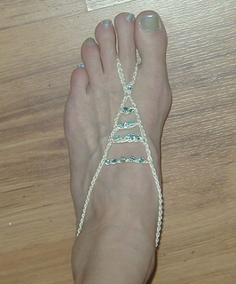 Ravelry Barefoot Beaded Sandals Pattern By Lisa Gentry