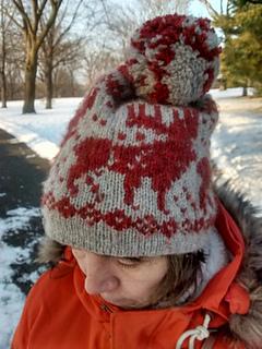 Ravelry  Kevin McCallister s Moose Hat pattern by Vrock Knits 8038f46d23c