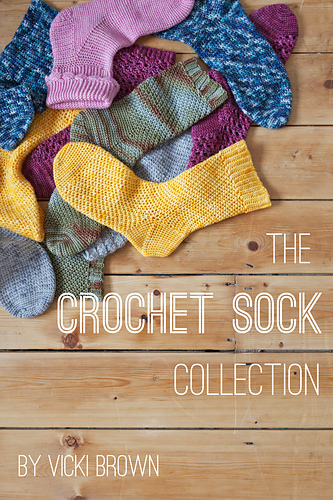 Ravelry The Crochet Sock Collection Patterns