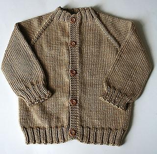 53cca2d53646 Ravelry  Top Down Raglan Baby Sweater pattern by Carole Barenys