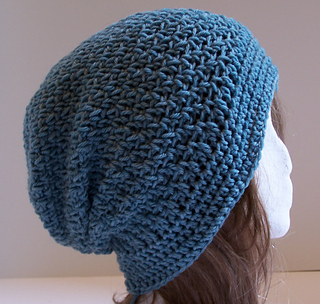 4e30cd3fc6c Ravelry  Ginger Slouchy Hat pattern by Kristina Olson