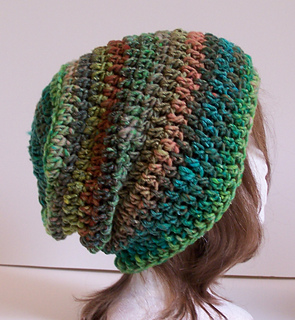 5f1a3befe4a Ravelry  Outlier Slouchy Toque - Bulky pattern by Kristina Olson