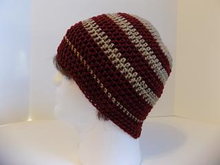 5f144b770d9 Ravelry  Chip s Beanie pattern by Kristina Olson