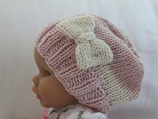 d2eb0f270a1 Ravelry  Baby Girl Slouchy Hat pattern by Vanessa Cayton