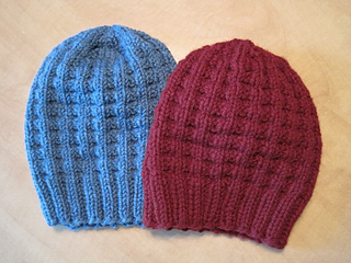 Ravelry  Bulky Waffle Hat pattern by Linda Suda 25c9aeeecce