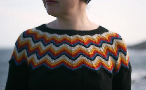 Ravelry Puffin Sweater Pattern By Kate Davies