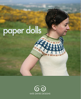 7cd5b3f05 Ravelry  Paper Dolls pattern by Kate Davies Designs