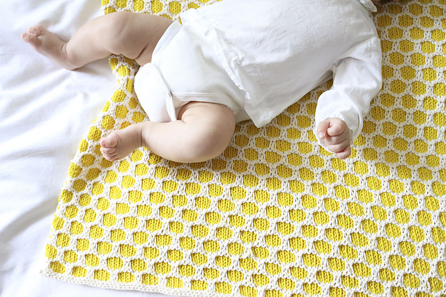 Ravelry Bee Blanket Pattern By We Are Knitters