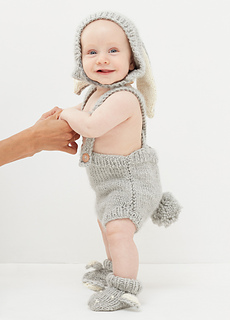 Ravelry  WAK X OEUF  Bunny Hat   Booties pattern by we are knitters 72e5b4045e1