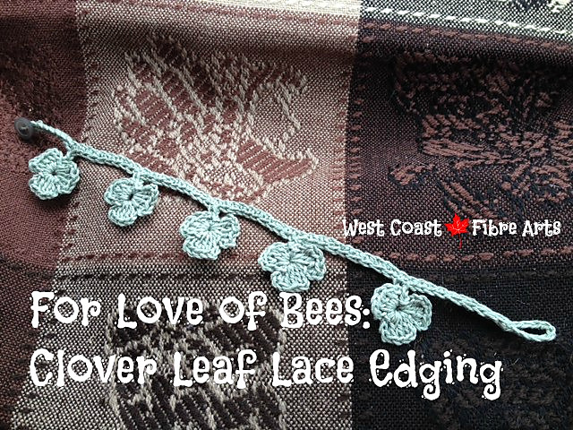Ravelry Clover Leaf Lace Edging Pattern By Wendy M Anderson