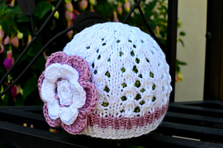 528483992ad Ravelry  Little Diamonds Spring Baby Hat pattern by Christy Hills