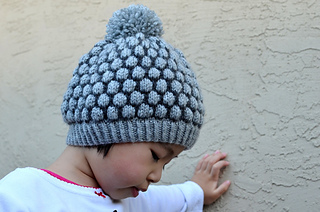 Ravelry  Shaded Bobble Stitch Hat pattern by Christy Hills 49f30064bbe