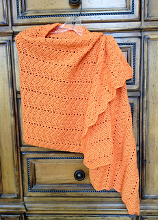 Ravelry Very Easy Ripple Shawl Crochet Pattern By Lion