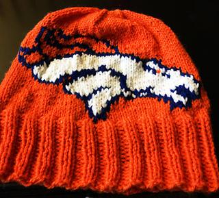 27a564ba53fb3e Ravelry: Broncos Beanie pattern by Genevieve Krzeminski