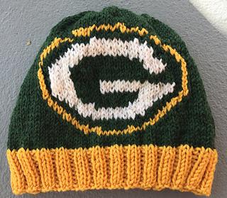 244242efbf5b7e Ravelry: Packers Beanie pattern by Genevieve Krzeminski