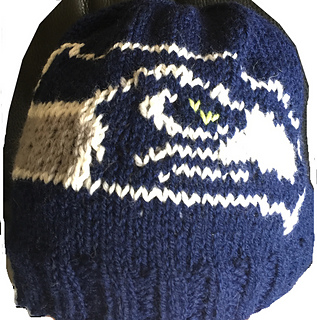 0d73da9c5e9c06 Ravelry: Seahawks Beanie pattern by Genevieve Krzeminski