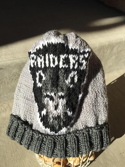 0a9be56aad6d87 Ravelry: Raiders Beanie pattern by Genevieve Krzeminski