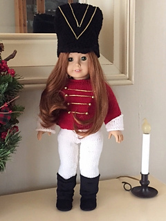 Ravelry Toy Soldiermajorette Outfit For 18 Doll Pattern By