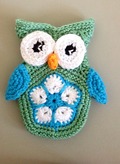 Ravelry: Betoto the Little African Flower Owl Phone Cover