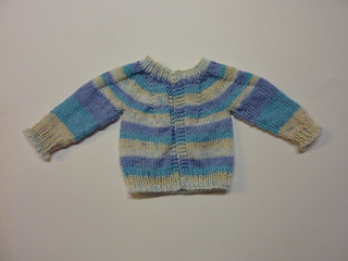 7a2e044a80bb Ravelry  Perfect Baby Boy or Girl Top Down DK Jacket pattern by ...