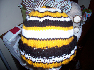 Ravelry Wittyneedles Boston Bruins Hat