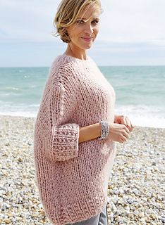 152a29ac0 Ravelry  Oversized Jumper pattern by Woman s Weekly