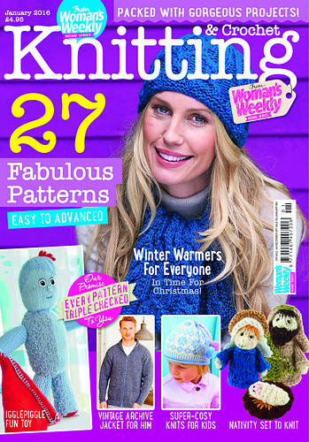Ravelry Womans Weekly Knitting Crochet Special January 2016