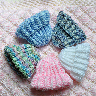 Easy Preemie Hat Knitting Pattern : Ravelry: Perfect Knit Preemie Cap pattern by Jane Bonning