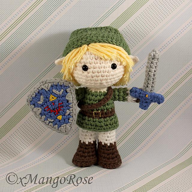 Ravelry Link Amigurumi Doll From Legend Of Zelda Pattern By Wendy Korz