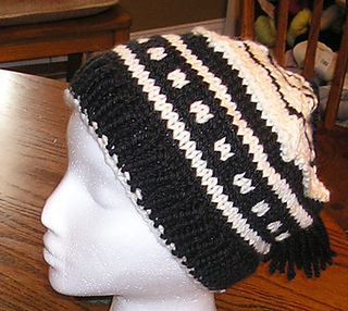patterns   The Knaughty Knitter   etsy.   Flat Top Hat df2445627c7