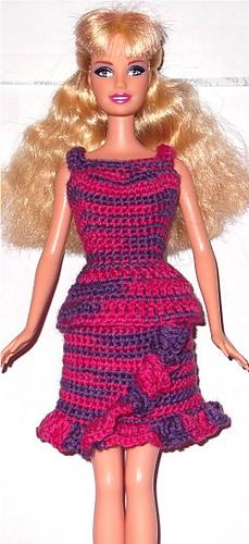 Barbie Basics Knitting Patterns : Ravelry ruffle top pattern by lynne sears