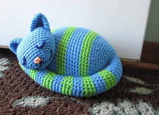 Amigurumi Black Cat Door Stopper : Ravelry: Sleepy Kitty Doorstop pattern by Brenda K. B ...