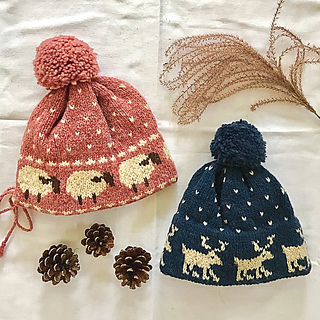 d1ee4d13a740 Ravelry   6 Pattern Hats pattern by Melinda Goodfellow