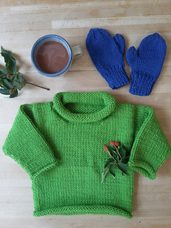 4e3010c11d Ravelry   30 Easy Bulky Sweater for the family pattern by Melinda ...