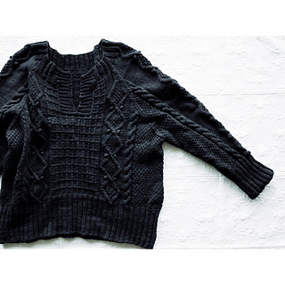 Anton sweater pattern by Yuko shimizu