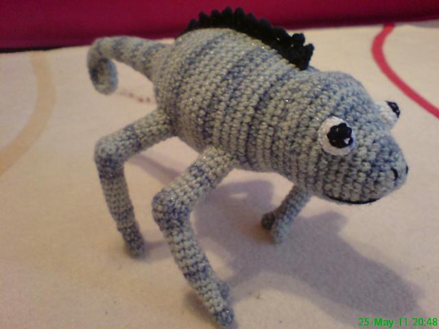 Ravelry Crocheted Chameleon Pattern By Sonea Delvon