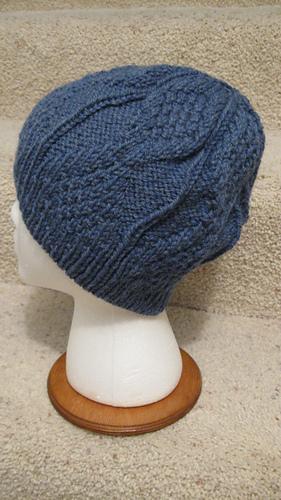 Ravelry  Mock Aran Mens Hat pattern by Heather Tucker 0e974d85b56