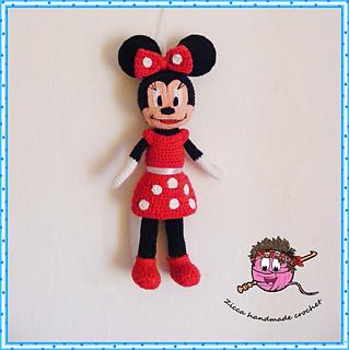 Ravelry: Minnie mouse pattern by Ilona Ziber