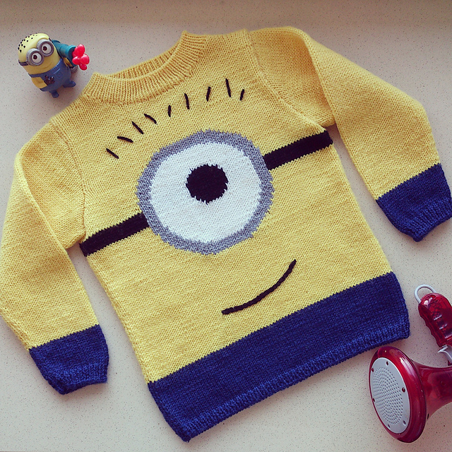 Ravelry Zozzys Minion Sweater